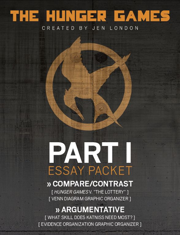 best shirley jackson s the lottery images shirley  essay packet for the hunger games 1st essay is a compare contrast
