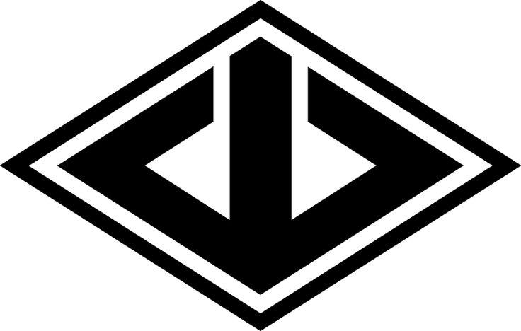 Emblem of the Yamaguchi-gumi yakuza group (Chapter 7).