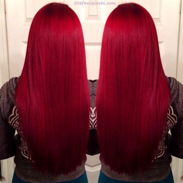 ... Red Hair Dye on Pi...