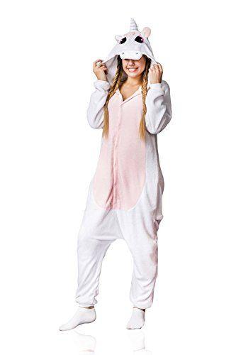 51f7f390d Adult-Unicorn-Kigurumi-Animal-Onesie-Pajamas-Plush-Onsie-One-Piece ...