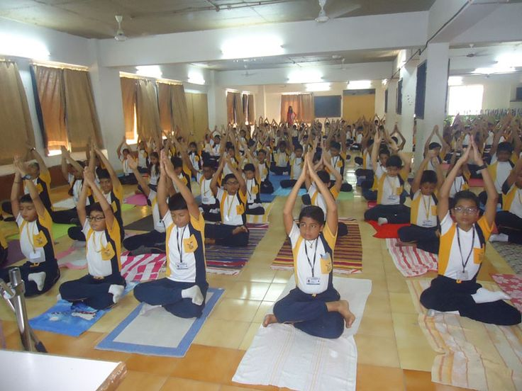Yoga day was celebrated in our school on 21st June, 2017 on the occasion of 3rd World Yoga day. Yoga is not about exercise but to find out the sense of individuality  within yourself, the world and the nature. RBK School student of class 6th and 7th took active part in it. They were able to discover oneness within themselves.
