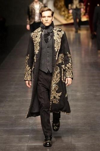baroque inspired fashion men - photo #7