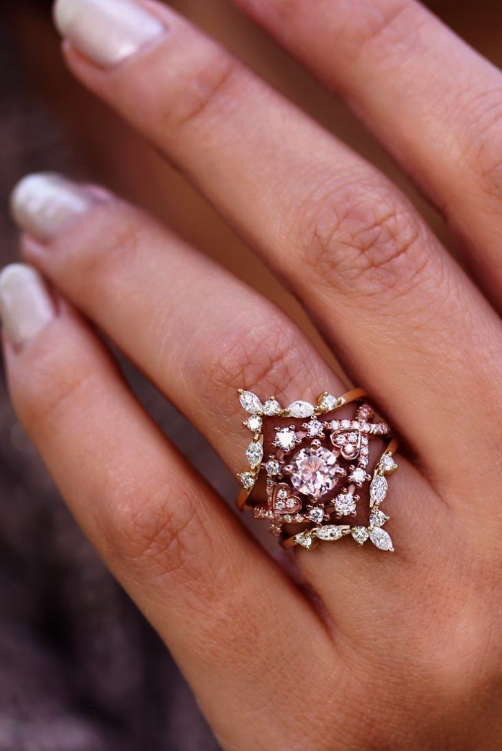 Rose Gold Wedding Rings South Africa Vintage Looking Gold Rings ...