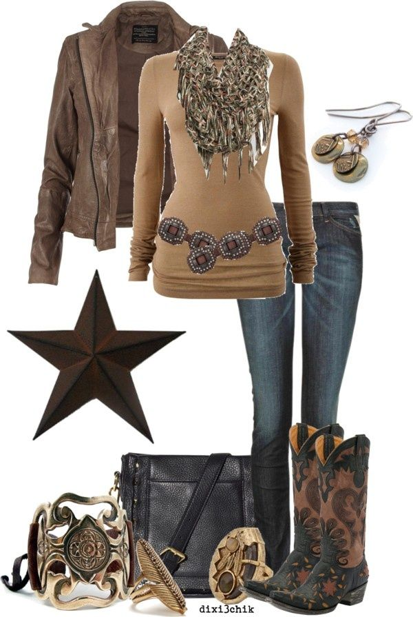 Boots By Dixi3chik On Polyvore Western Fashion