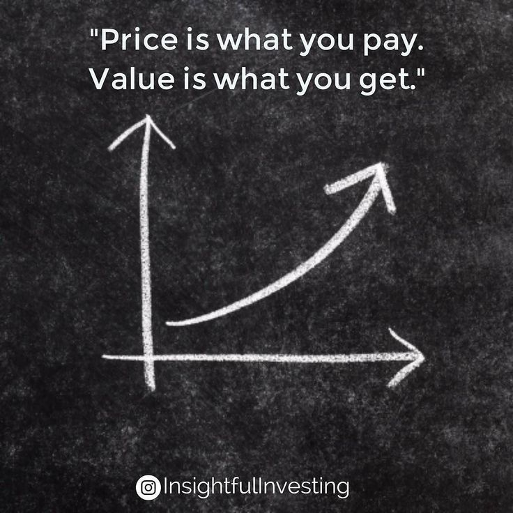 """""""#Price is what you #pay. #Value is what you #get."""" #investing #investments #stock #business #chalk #graph #chalkboard #chart #valueinvesting #upward #discipline #think #insightful #WarrenBuffett #quote #insight #money #retirement"""