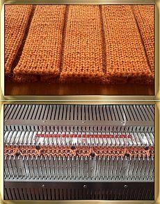 Бантовые складки » Школа машинного вязания