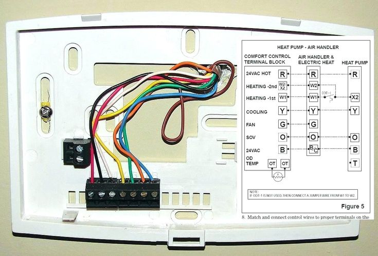 Honeywell Thermostat Wiring Diagram, Honeywell Thermostat Wiring Diagram Heat Pump