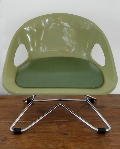 Vintage Cosco child booster seat 70s