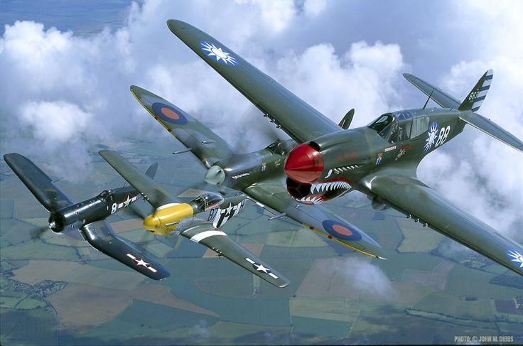 World War 2 Fighter Aircrafts Vought F4U Corsair