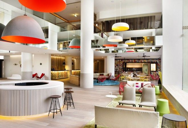 QT Gold Coast hotel - Gold Coast, Australia. This hedonistic high-rise aims to please, with dreamy dining, a cool pool, stylish spa and sea-view rooms.