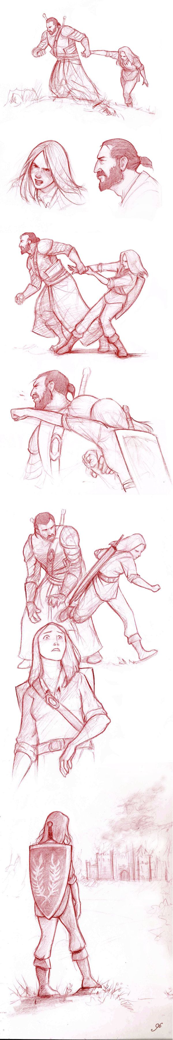 Attack on Castle Cousland part 14 by RanmaCMH on DeviantArt