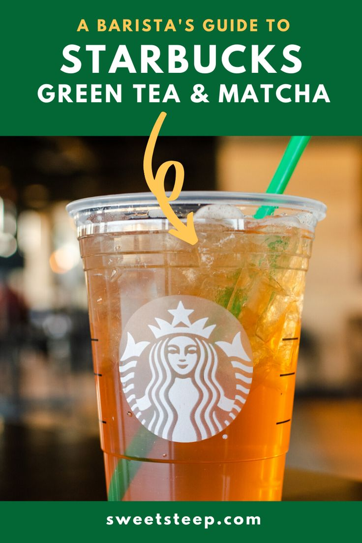 A baristas guide to starbucks green tea matcha in 2020