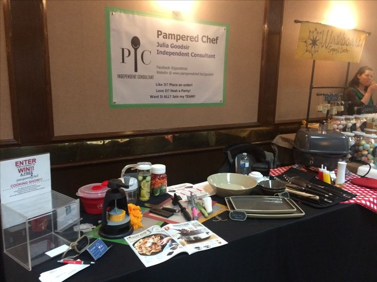 Pampered Chef Trade show