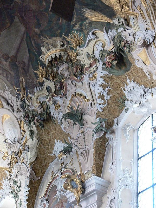 318 best images about rococo ornament on pinterest for Baroque vs rococo