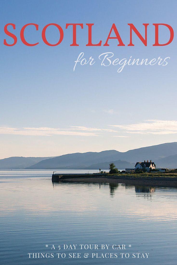 Scotland Roadtrip Travel Inspiration Europe