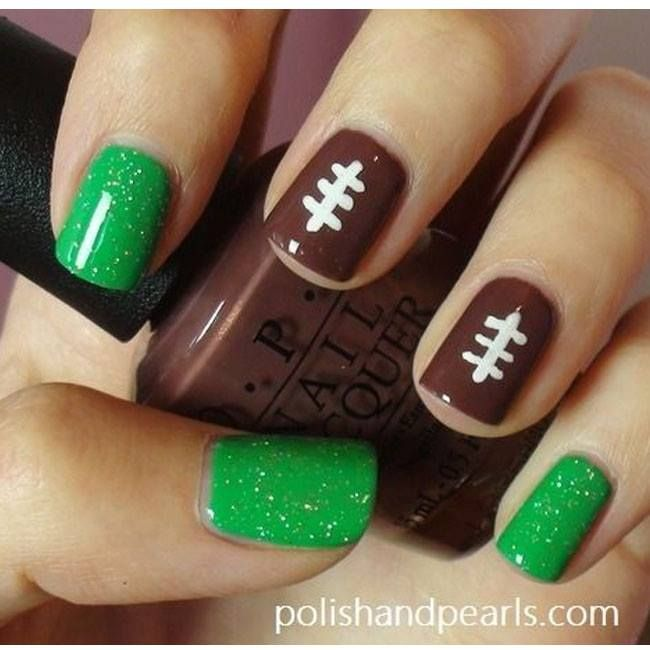 Are you nails ready for gameday? #Tailgating #Football