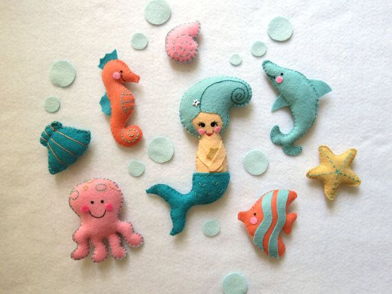 26 best images about baby mobiles by lilo limon on for Sea animal baby mobile