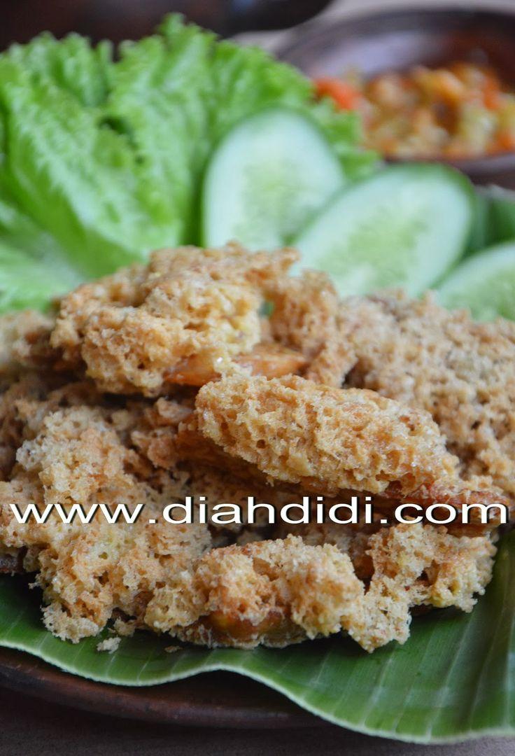Diah Didi's Kitchen: Tempe Kremes..Renyah, Nyarang dan Tebal Kremesannya..^^