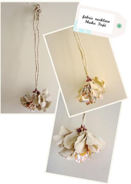 Flor de viento, 風の花, necklace IKUKO FUJII