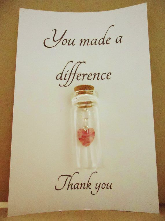 thank you gift doctor nurse teacher  you by