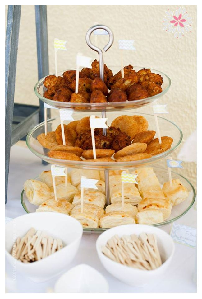 Boys Baptism Reception Food Ideas