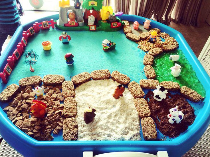 Small world- food animal farm