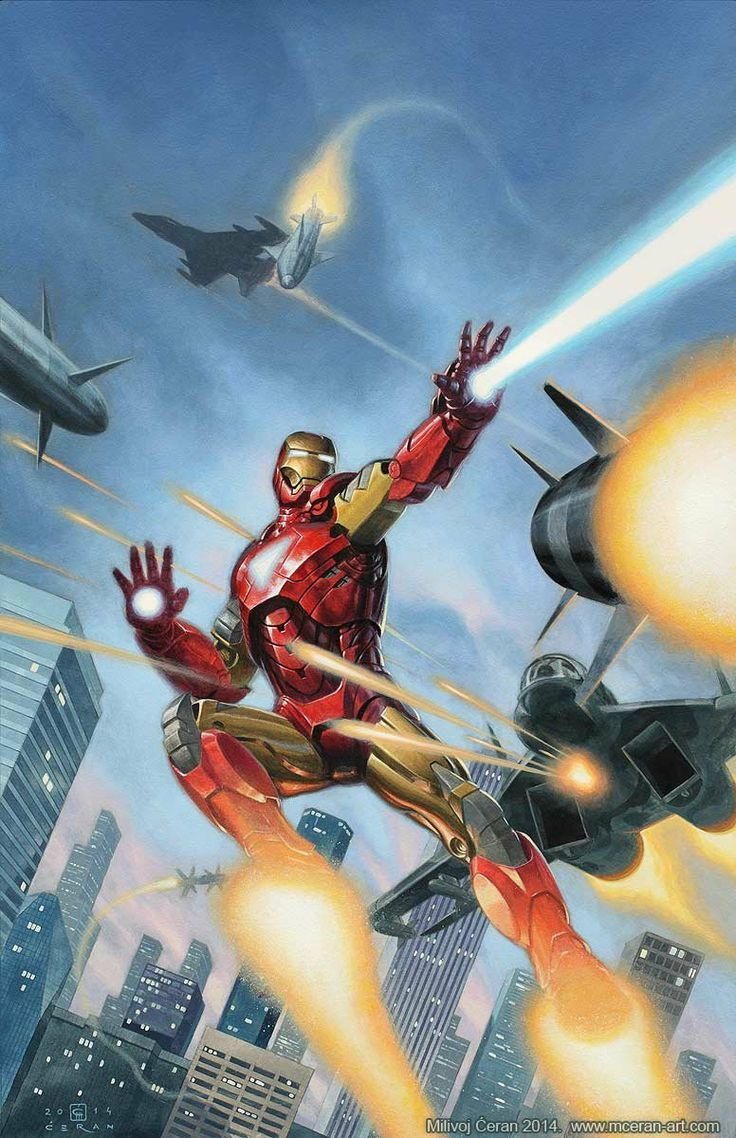 #Iron #Man #Fan #Art. (Iron Man: Under Attack!) By: Milivoj Ćeran. (THE * 5 * STÅR * ÅWARD * OF: * AW YEAH, IT'S MAJOR ÅWESOMENESS!!!™)[THANK Ü 4 PINNING!!!<·><]<©>ÅÅÅ+(OB4E)