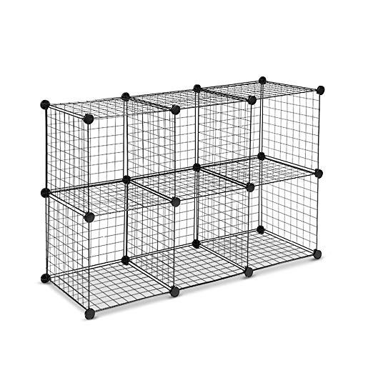 Remarkable 12 Cube Wire Storage Cubes Cabinet Modular Display Shelving Download Free Architecture Designs Embacsunscenecom