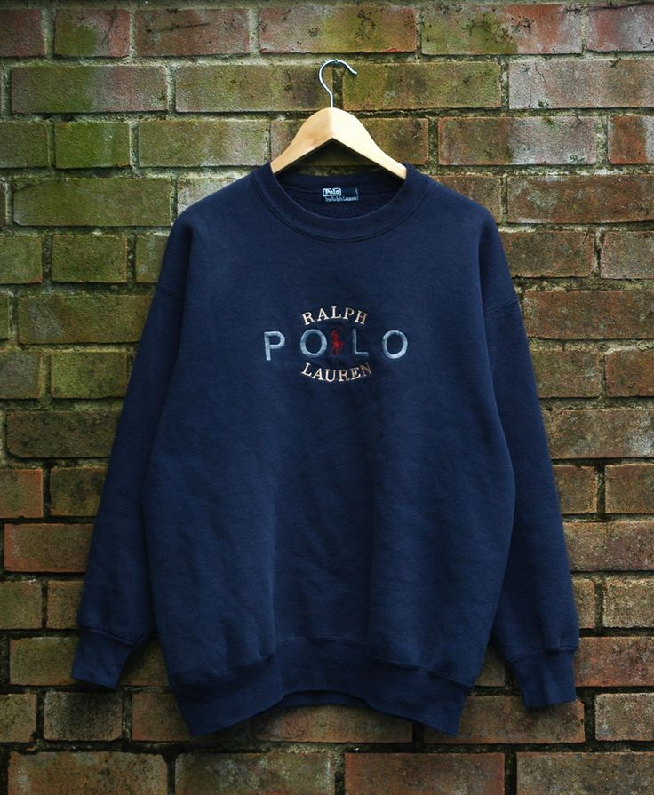 Image of Vintage Polo Ralph Lauren Sweatshirt Size Large