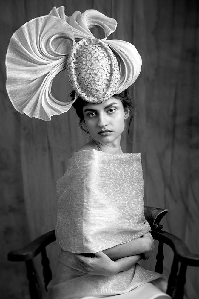 Fine art fashion photographer. Millinery