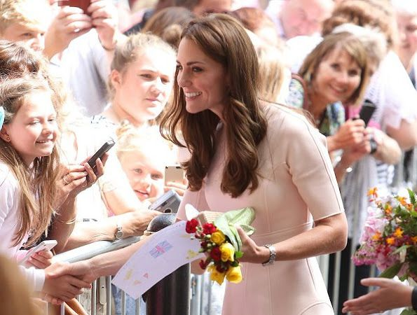 Prince William and Duchess of Cambridge visited Truro City