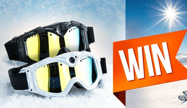 Gewinne mit MrLens und etwas Glück 2 mal eine HD Video Snow Skibrille im Wert von über CHF 280.-. Die Video-Brille hat einen 100% UV-Schutz, eine integrierte 5-Megapixel Fotokamera und eine 720P Videokamera.  https://www.alle-schweizer-wettbewerbe.ch/gewinne-video-snow-goggles/