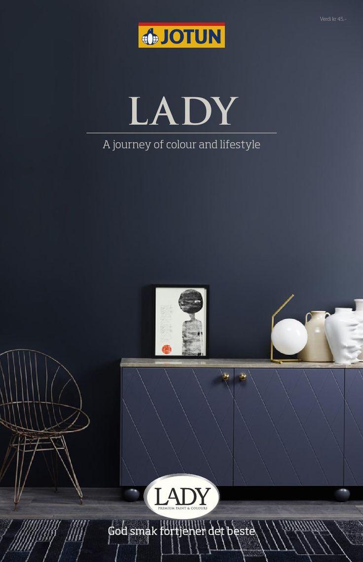 Soverom: ISSUU - Jotun LADY - Det nye vakre fargekartet 2015 by Jotun Dekorativ AS Med hvite brede lister