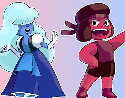 "Check out new work on my @Behance portfolio: ""Ruby and Sapphire (sugimori style)"" http://be.net/gallery/35114787/Ruby-and-Sapphire-(sugimori-style)"