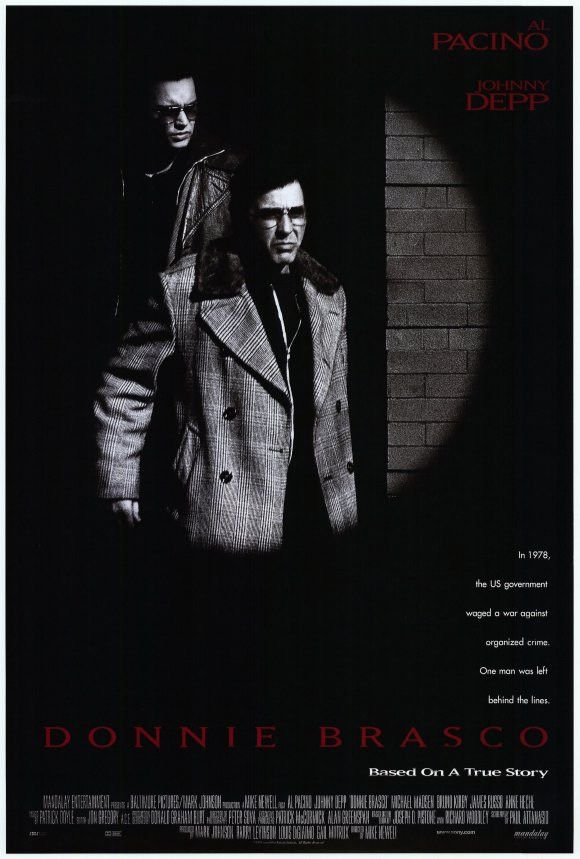 Donnie Brasco 27x40 Movie Poster (1996)