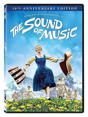 The Sound of Music (DVD, 2015, 50th Anniversary Edition) NEW