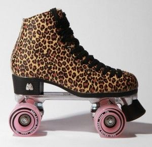 Now, if only I knew how to roller skate!
