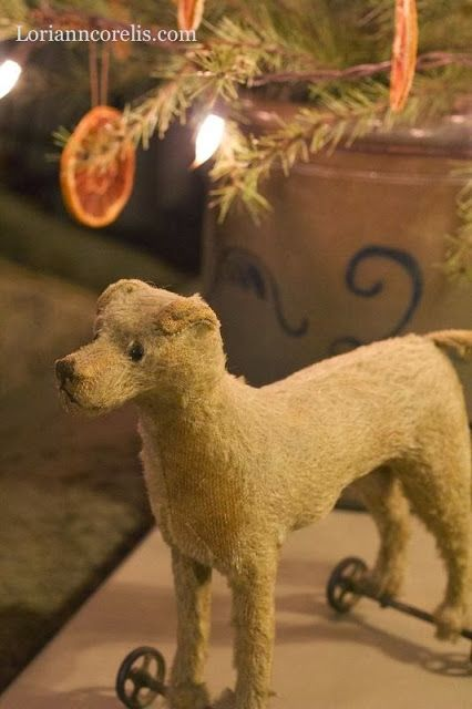 The Spotted Hare -- antique toy