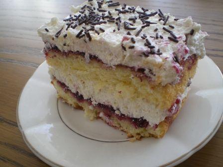 Alkoholik- pyszne, mocne ciasto