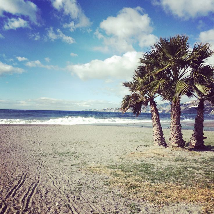 What If It Goes Right #positive #confidence #expat   Beach in Salobreña (Granada province)