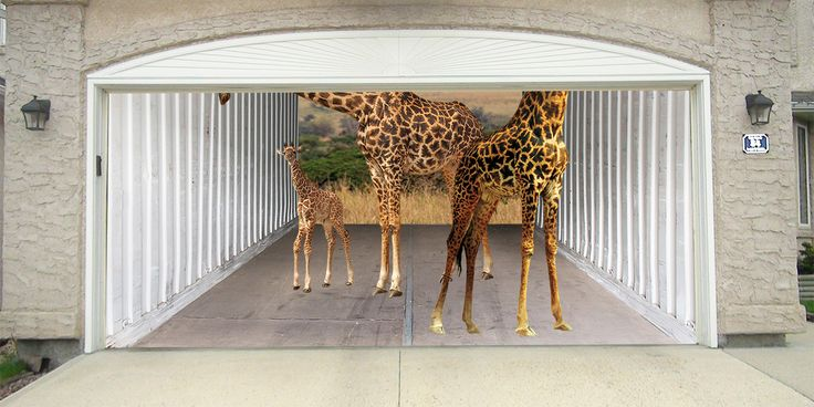 Giraffes - DressMyGarage.com