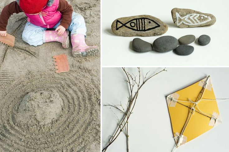 beach crafts and activities