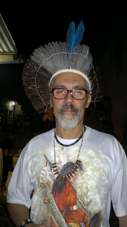 Apresentação dos índios Funi-ô em Curitiba - Paraná - Brasil - no CECATU