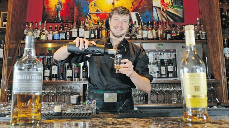 Tasting bars attracting younger crowd to the complex world of whisky