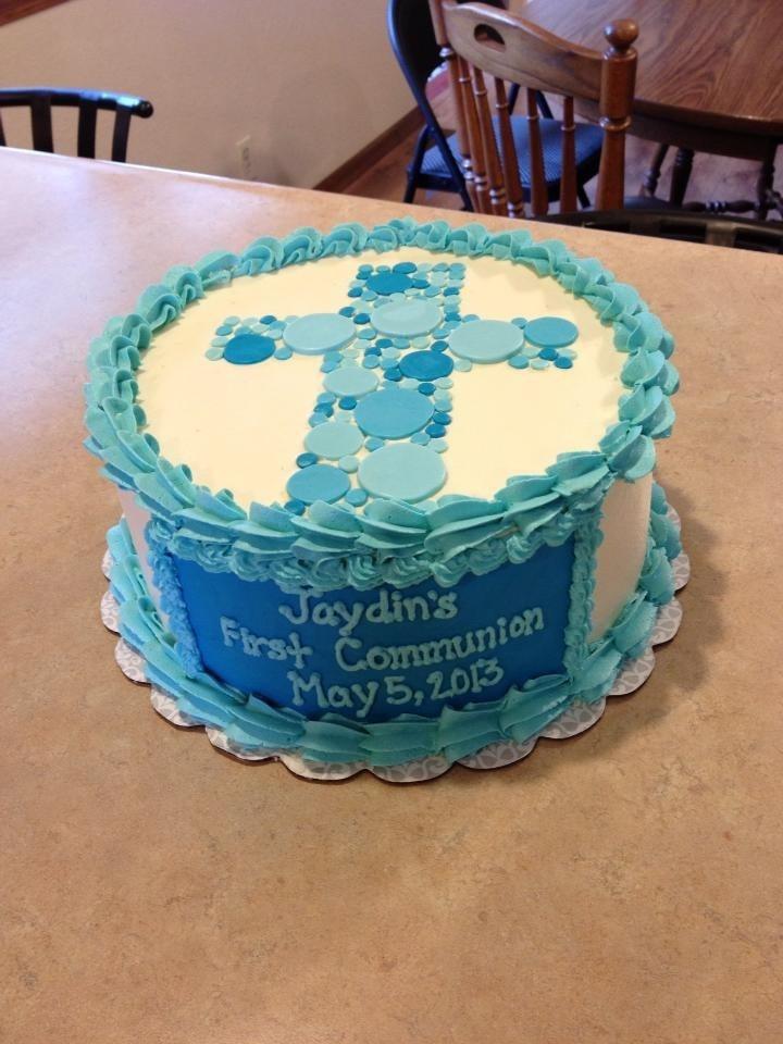 Jaydin's first communion cake