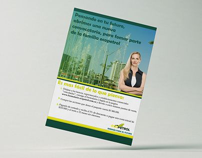 """Check out new work on my @Behance portfolio: """"Campaña Ecopetrol"""" http://on.be.net/1P7i03E"""