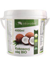H-sportfitness: Zdravý den kokosový olej 4000ml