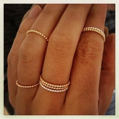 Harper Ring Rose Gold NEW!