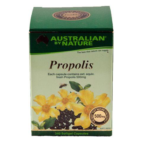 Propolis 500mg – Australian by Nature – 340 Capsules | Shop Australia