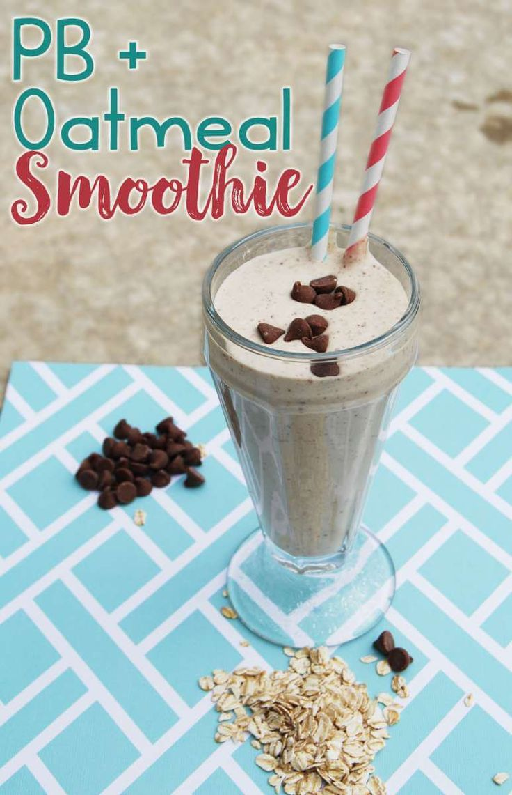 Delicious Peanut Butter Smoothie In A Blender